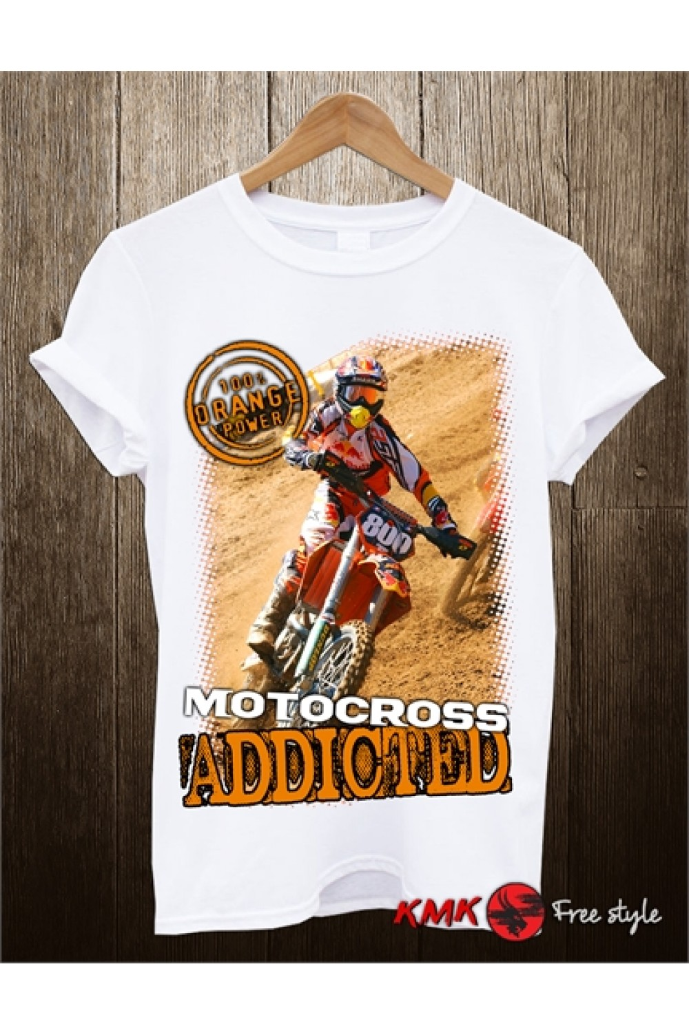 Motocross Addicted Printed T shirt | Moto Tanktop | Speed Tee | Long and Short Shirt